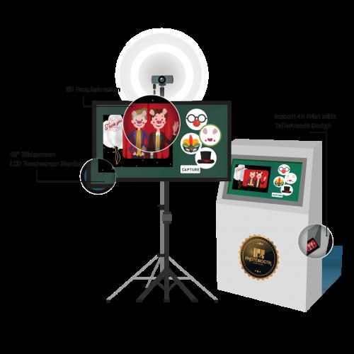 3D AR Photobooth - Grahpic